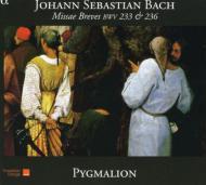 J.S.バッハ:二つのミサ・ブレヴィス BWV.233、BWV.236、他 ラファエル・ピション、ピグマリオン・バロック・アンサンブル