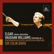 エルガー:エニグマ変奏曲、ヴォーン・ウィリアムズ:交響曲第6番 C.デイヴィス&バイエルン放送交響楽団