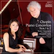 ピアノ協奏曲第1番、第2番 仲道郁代(1841年製プレイエル)有田正広&クラシカル・プレイヤーズ東京