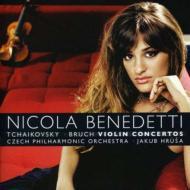 チャイコフスキー:ヴァイオリン協奏曲、ブルッフ:ヴァイオリン協奏曲第1番 ベネデッティ、フルシャ&チェコ・フィル