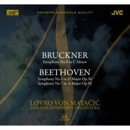 ブルックナー:交響曲第8番、ベートーヴェン:交響曲第2番、第7番 マタチッチ&NHK交響楽団(1984)(2XRCD)