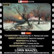 Maazel / Bpo Berlin Rso Tchaokovsky, Rimsky-korsakov, Respighi, Stravinsky, Mussorgsky