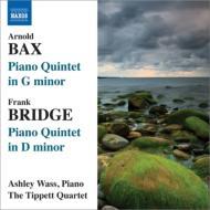 バックス:ピアノ五重奏曲、ブリッジ:ピアノ五重奏曲 ウェイス、ティペット四重奏団