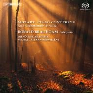 ピアノ協奏曲第9番、第12番、ロンド ブラウティハム(フォルテピアノ)、ヴィレンズ&ケルン・アカデミー