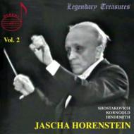 Shostakovich Symphony No, 1, Hindemith Mathis Der Maler(Sym), Korngold : Horenstein / Royal Philharmonic, French National Orchestra