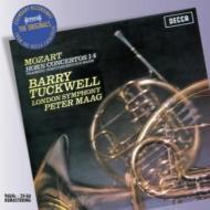 ホルン協奏曲全集、断章ホ長調 タックウェル、マーク&ロンドン交響楽団