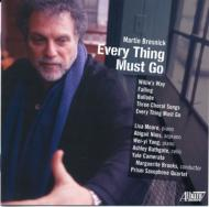 Every Thing Must Go: Prism Saxophone Quartet M.brooks / Yale Camerata Etc