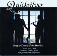 Quicksilver-new Works Flute & Guitar: Bonita Boyd(Fl)Goluses(G)