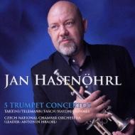 トランペット協奏曲集〜ハイドン、フンメル、タルティーニ、テレマン、ファッシュ ハーズネル、チェコ・ナショナル室内管