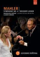 交響曲第4番、リュッケルト歌曲集 アバド&ルツェルン祝祭管弦楽団、コジェナー