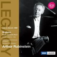 ブラームス:ピアノ協奏曲第2番、ほか ルービンシュタイン、ドホナーニ&ケルン放送響