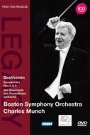 交響曲第4番、第5番『運命』、『プロメテウスの創造物』より ミュンシュ&ボストン響(1959−61)