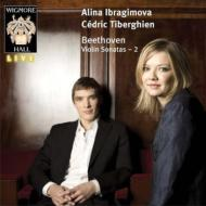 ヴァイオリン・ソナタ第2番、第5番『春』、第10番 イブラギモヴァ、ティベルギアン