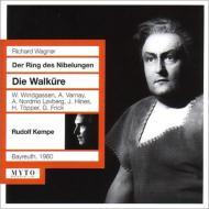 ワーグナー(1813-1883)/Die Walkure: R.kempe / Bayreuther Festspiele Windgassen Varnay (1960)