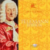Telemann Edition : Belder / Musica Amphion Matt / Mannheim Co Holliger Wentz Biondi Etc (29CD)