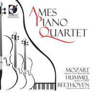 モーツァルト(1756-1791)/Piano Quintet 2 : Ames Piano Quartet +beethoven: Quartet Op.16 Hummel