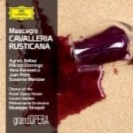 『カヴァレリア・ルスティカーナ』全曲 シノーポリ&フィルハーモニア管、バルツァ、ドミンゴ、他(1989 ステレオ)