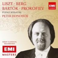 リスト:ピアノ・ソナタ、ベルク:ピアノ・ソナタ、バルトーク:ソナタ、プロコフィエフ:ピアノ・ソナタ第7番、他 ドノホー