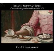 J.S.バッハ:さまざまな楽器のための協奏曲5(BWV1051・1056・1065・1068) カフェ・ツィマーマン