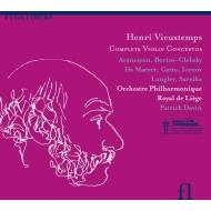 Comp.violin Concertos: Davin / Liege Royal Po Sareika Avanesyan(Vn)Etc