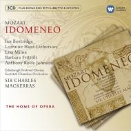 『イドメネオ』全曲 マッケラス&スコットランド室内管、ボストリッジ、フリットリ、他(2001 ステレオ)(3CD)