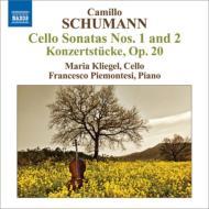 チェロ・ソナタ第1番、第2番、小協奏曲 クリーゲル、ピエモンテージ
