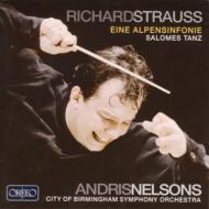 アルプス交響曲、『サロメ』より「7つのヴェールの踊り」 ネルソンス&バーミンガム市交響楽団