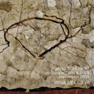 ピアノ・ソナタ第18番、第19番、即興曲集D899、アレグレット メジューエワ(2CD)