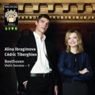 ヴァイオリン・ソナタ第9番『クロイツェル』、第3番、第6番 イブラギモヴァ、ティベルギアン