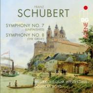 交響曲第8番『未完成』、第9番『グレート』 ボイド&ヴィンタートゥール・ムジークコレギウム