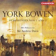 交響曲第1番、第2番 A.デイヴィス&BBCフィル