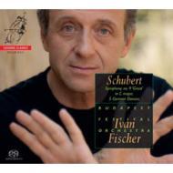 交響曲第9番『グレート』、5つのドイツ舞曲 I.フィッシャー&ブダペスト祝祭管弦楽団