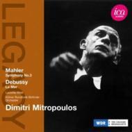 マーラー:交響曲第3番、ドビュッシー:『海』 ミトロプーロス&ケルン放送交響楽団(1960)(2CD)