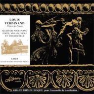 ルイ・フェルディナント:ピアノ四重奏曲、リスト:悲歌 H.サロメ、マイヤー=シールニング、シュタルク、他