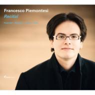 ヘンデル:組曲、ブラームス:ヘンデルの主題による変奏曲とフーガ、バッハ:パルティータ第1番、リスト:オーベルマンの谷、他 ピエモンテージ