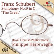交響曲第9番『グレート』 ヘレヴェッヘ&ロイヤル・フランダース・フィル