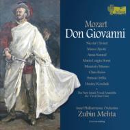 『ドン・ジョヴァンニ』全曲 メータ&イスラエル・フィル、ウリヴィエーリ、サムイル、他(2009 ステレオ)(3CD)