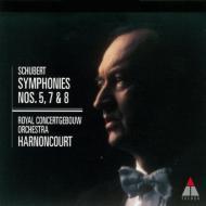 交響曲第5番、第7番(第8番)『未完成』&第8番(第9番)『ザ・グレート』 アーノンクール&コンセルトヘボウ管弦楽団