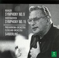 マーラー:交響曲第9番(フィルハーモニア管弦楽団)、ショスタコーヴィチ:交響曲第15番(クリーヴランド管弦楽団) クルト・ザンデルリング(指揮)