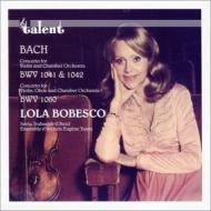 ヴァイオリン協奏曲第1番、第2番、ヴァイオリンとオーボエのための協奏曲 ボベスコ、イザイ弦楽アンサンブル、トゥルバスニク
