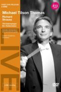 『英雄の生涯』、『ティル・オイレンシュピーゲル』 ティルソン・トーマス&ロンドン交響楽団(1994、1987)(2DVD)