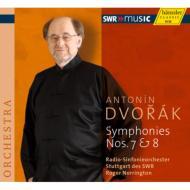 交響曲第7番、第8番 ノリントン&シュトゥットガルト放送交響楽団