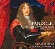 Violin Sonatas Op.4: Letzbor(Vn)/ Ars Austria Austria