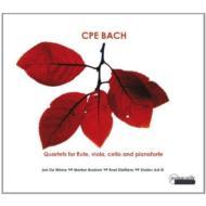 Flute Quartets: De Winne(Fl)Boeken(Va)Dieltiens(Vc)Ad-el(Fp)