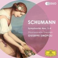 交響曲全集、『序曲、スケルツォとフィナーレ』 シノーポリ&シュターツカペレ・ドレスデン(2CD)