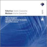 シベリウス:ヴァイオリン協奏曲、ニールセン:ヴァイオリン協奏曲 ヴェンゲーロフ、バレンボイム&シカゴ交響楽団