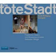 『死の都』全曲 ヴァイグレ&フランクフルト歌劇場、フォークト、パヴロフスカヤ、他(2009 ステレオ)(2CD)