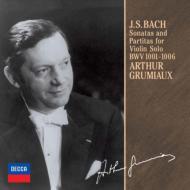 無伴奏ヴァイオリン・ソナタとパルティータ全曲 アルテュール・グリュミオー(2CD)