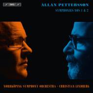 交響曲第1番、第2番 リンドベルイ&ノールショピング交響楽団(DVD付)