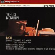 ヴァイオリン協奏曲集:メニューイン(ヴァイオリン)、フェラス(ヴァイオリン)、マスターズ室内管弦楽団 (180グラム重量盤レコード/Hi-Q Records Supercuts)